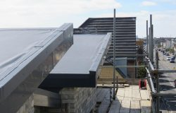 Constructing a new flat roof in North England